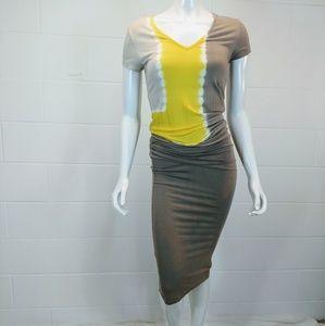 Young Fabulous & Broke Short Sleeve Dress. Size L